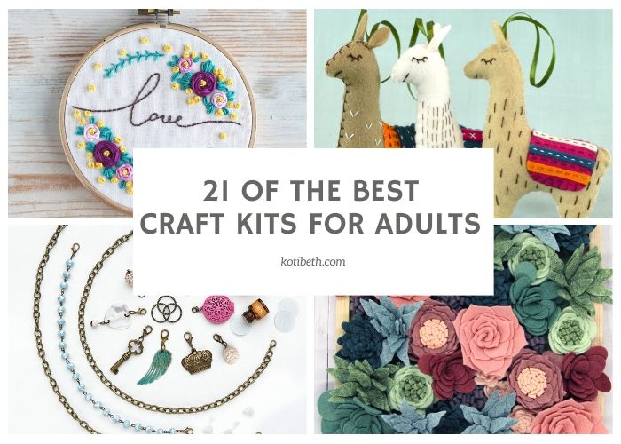 21 of the Best Craft Kits for Adults