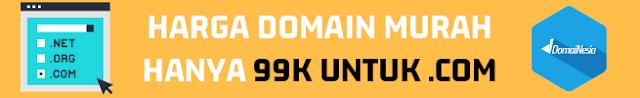 Harga Domain Yang Murah