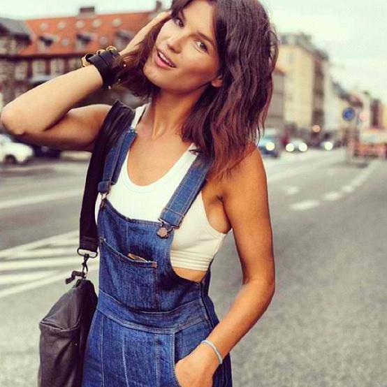 Hanneli en salopette jeans