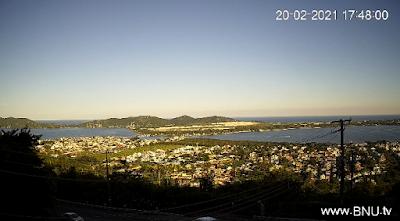 Câmera ao vivo do Mirante da Lagoa Florianópolis