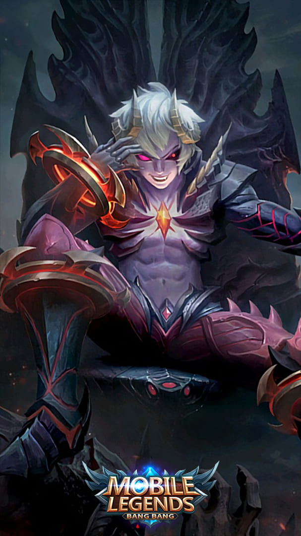 Wallpaper Dyrroth Prince of the Abyss Skin Mobile Legends HD for Android and iOS