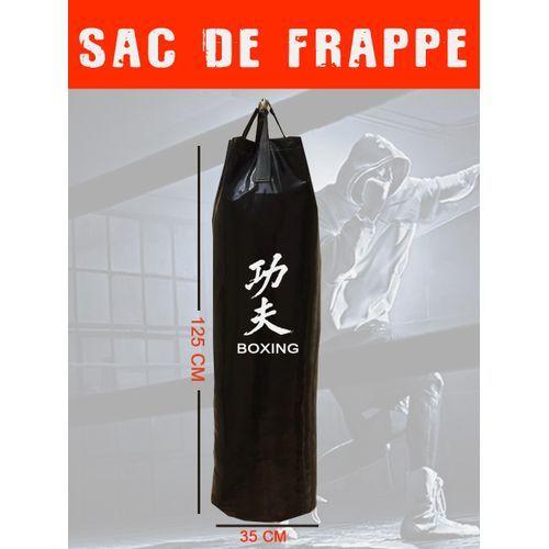 Sac de Frappe, Sacs de Boxe, Musculation Fitness,