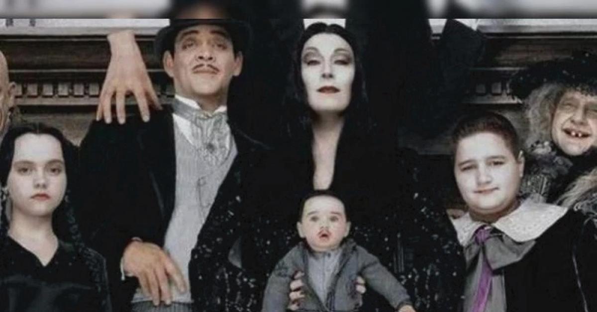 """Así luce """"Puberto"""", el bebé de """"Los locos Addams""""... y el elenco te ..."""