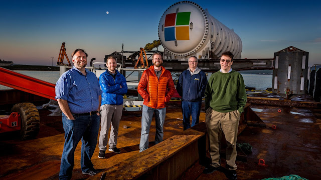 Microsoft loads the data center into the bottom of the ocean