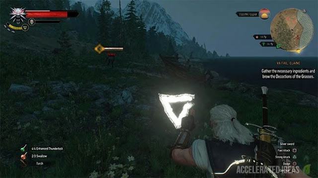 The Witcher - señal axia