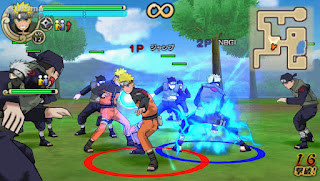 Download game Naruto Ninja Impact ppsspp Android