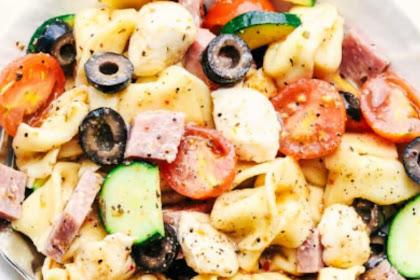EASY ITALIAN TORTELLINI PASTA SALAD