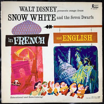 Walt Disney Presents Snow White and the Seven Dwarfs in French and English
