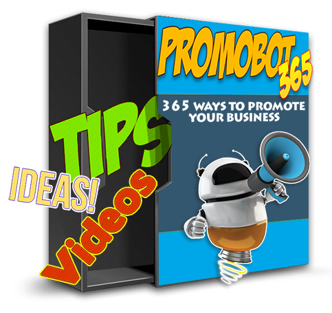 [GIVEAWAY] The Promobot 365 [PROMOTE YOUR BUSINESS EVERYDAY]