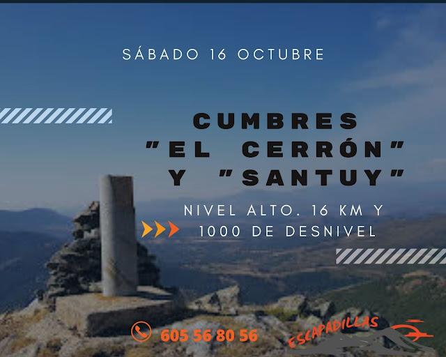 El Cerron y Santuy con - escapadillas.com