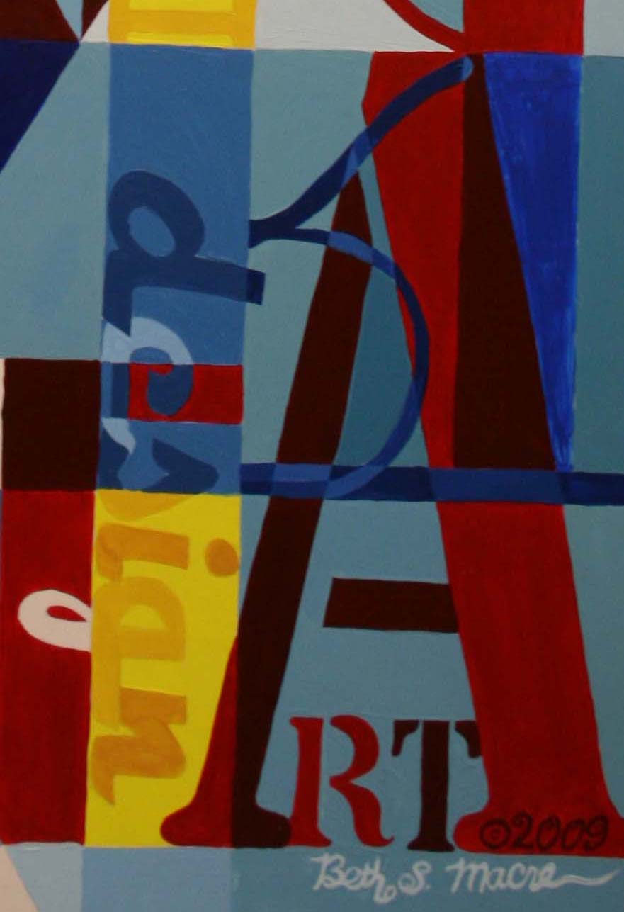 Mrs Macre S Art Class Update On Abstract Letter Designs