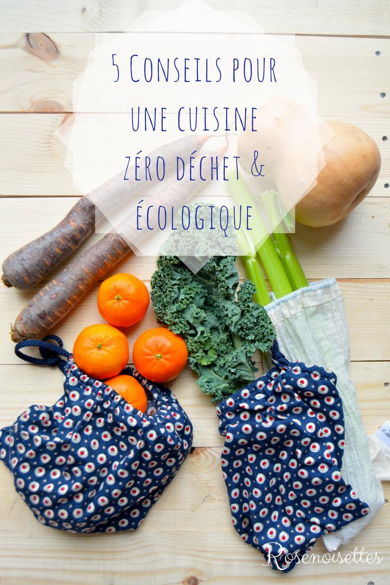5 conseils pour une cuisine ecologique