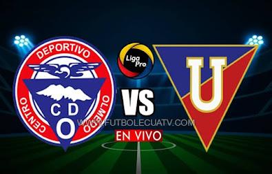 Olmedo se enfrenta a Liga de Quito en vivo  desde las 16h00 horario de nuestro país, con transmisión de GolTV Ecuador continuando la fecha cinco del campeonato ecuatoriano. A jugarse en el Estadio Fernando Guerrero, siendo arbitrado por Gabriel Gonzáles.