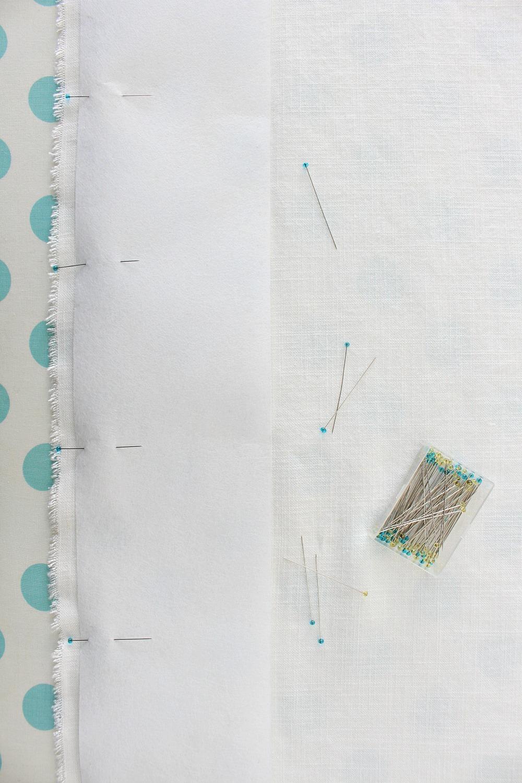 How to Stiffen Curtain Hem