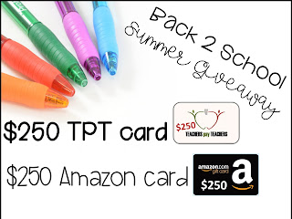 BACK TO SCHOOL MEGA GIFT CARD GIVEAWAY