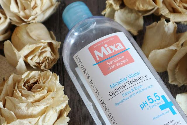Мицеллярная вода для нормальной, сухой и чувствительной кожи Mixa Micellar Water Optimal Tolerance