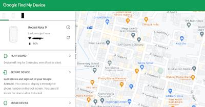 Cara Membuka Kata Sandi HP Vivo Dengan Google Find My Device