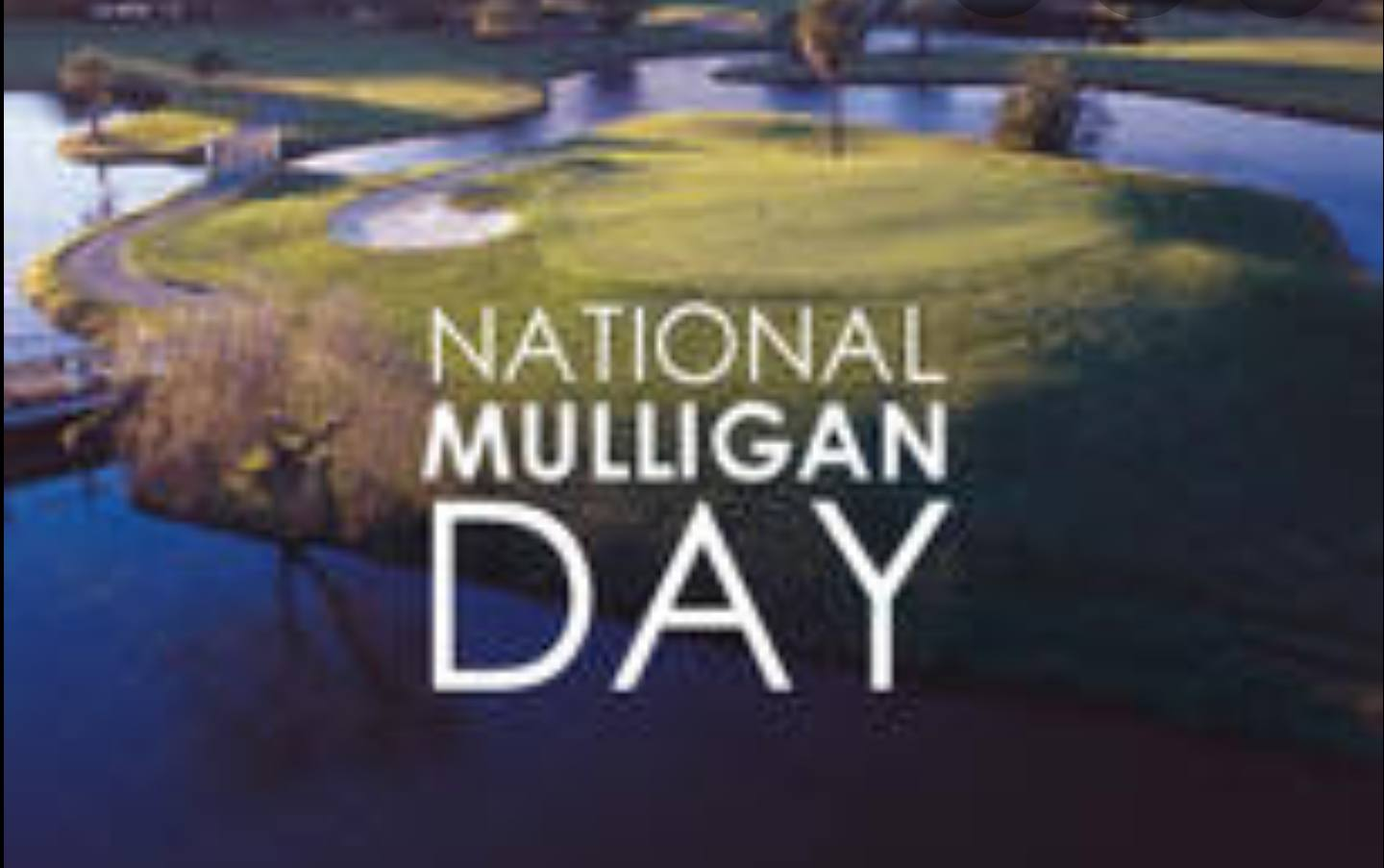 National Mulligan Day Wishes Sweet Images