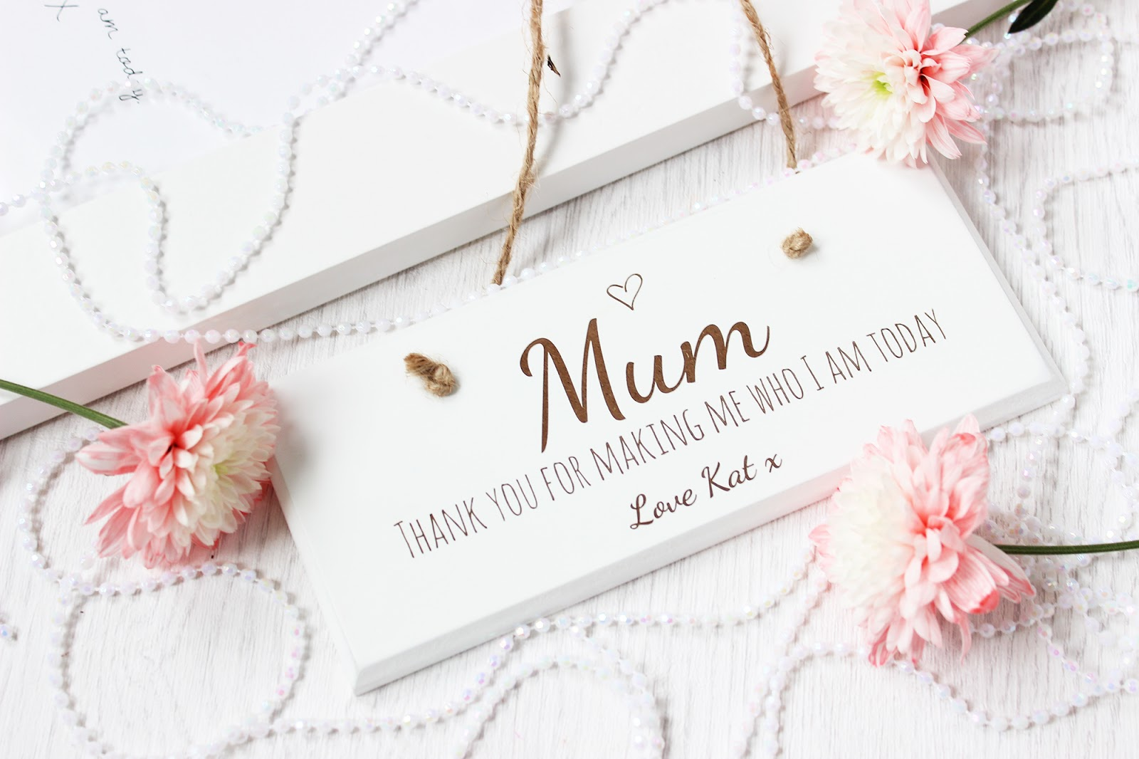 Mother's Day personalised sign