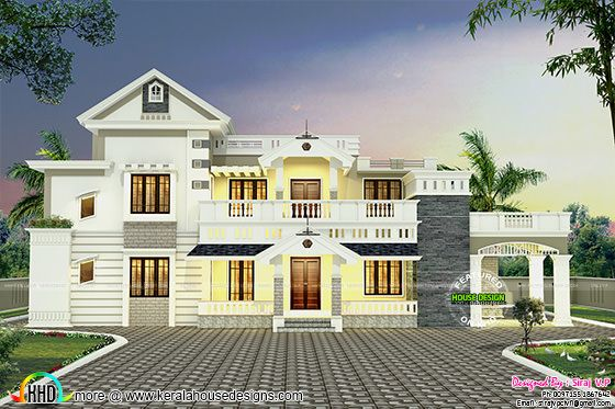 Colonial mix villa