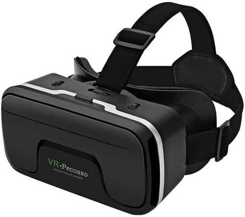 Pecosso VR Headset 3D Virtual Reality Glasses