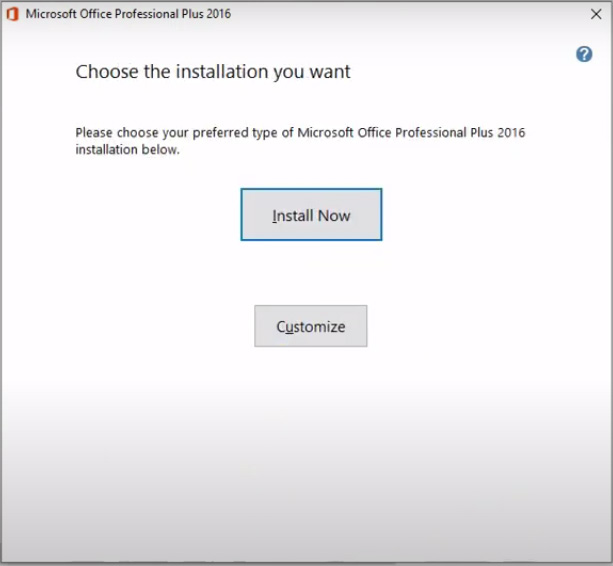 Hướng dẫn cài đặt Microsoft Office 2016 Professional Plus b