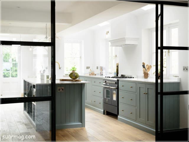 مطابخ مودرن خشب 14   Modern Wood kitchens 14