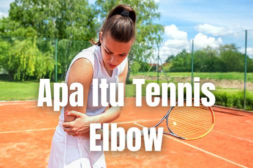 Apa Itu Tennis Elbow : Pengertian, Tanda dan Gejala, Penyebab, Faktor Risiko Pengertian Tennis Elbow Rasa sakit pada siku dapat terjadi karena rusaknya otot dan tendon di area siku. Persendian siku terdiri atas humerus, tulang siku, dan putaran siku.   Tonjolan tulang pada siku berbentuk bulat dan merupakan kepala humerus. Otot dan tendon yang menghubungkan tulang humerus menonjol melalui bagian ini.   Berkat struktur ini, lengan dapat dilipat dan diregangkan. Luka pada otot siku terjadi ketika tendon terpotong atau terhubung dengan relaksasi. Ada dua jenis rasa sakit yang umum pada siku:  Rasa sakit siku tennis: bagian luar dari siku terserang, siku dapat diobati dengan mudahRasa sakit siku pada pemain golf: bagian dalam siku yang terserang  Tanda dan Gejala Tennis Elbow Berdasarkan jenis dari siku, dapat mengalami gejala yang bermacam-macam, seperti : Tennis elbow : Ada gejala yang mirip dengan peradangan ikatan sendi. Tetapi perbedaan yang paling besar adalah jika terjadi pada siku, jaringan sel tidak membengkak. Gejalanya antara lain : Rasa sakit yang spesifik pada lengan yang sangat sakit ketika digerakkan atau disentuh Rasa panas terbakar dari siku ke lengan Rasa sakit terus berlangsung, bahkan ketika istirahat Pegangan dapat melemah dan sulit untuk mengangkat, menggenggam barang, atau melakukan hal-hal kecil seperti menulis atau menggosok  Rasa sakit siku pada pemain golf : Akan merasakan rasa sakit pada lengan bawah atau siku. Gejala lain juga termasuk: Siku menjadi kaku Pergelangan tangan atau lengan melemah Jari-jari (khususnya jari manis dan kelingking) menjadi mati rasa atau terasa geli  Penyebab Tennis Elbow Perbedaan kasus juga mempengaruhi perbedaan penyebab, yang diantaranya adalah : Sakit siku tenis: biasanya disebabkan karena terlalu sering menggunakan lengan ketika bekerja atau berolahraga. Mengangkat beban berat juga dapat menyebabkan luka Rasa sakit pada siku pemain golf: terjadi karena penggunaan yang berlebihan pada pergelangan tangan. Selain 