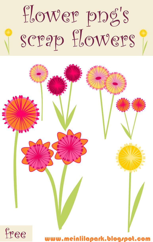 free scrapbook flower clipart - photo #50
