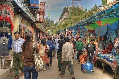 The Mall Road, Darjeeling
