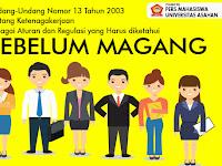 """Aturan Main"" Magang Dalam Undang-Undang Republik Indonesia"