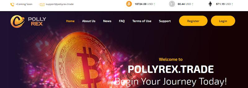 Мошеннический сайт pollyrex.trade – Отзывы, развод, платит или лохотрон? Мошенники
