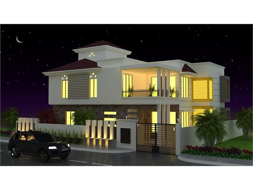 Aundh Pune Duplex House Design  AG - 433