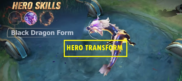 Hero Mobile Legends Berubah Bentuk