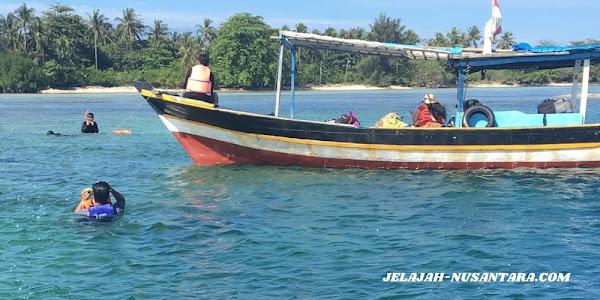 aktivitas wisata open trip pulau tidung