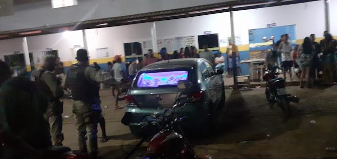24ª CIPM apreende paredões de som em aglomeração na região de Ourolândia