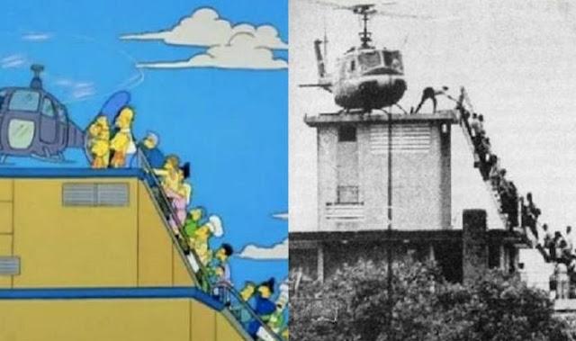 La Caída de Saigón, Los Simpsons