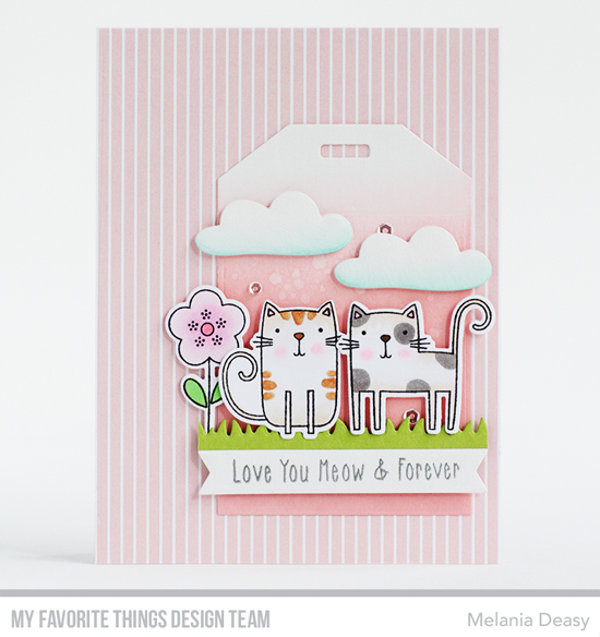 Handmade card by Melania Deasy featuring products from My Favorite Things #mftstamps