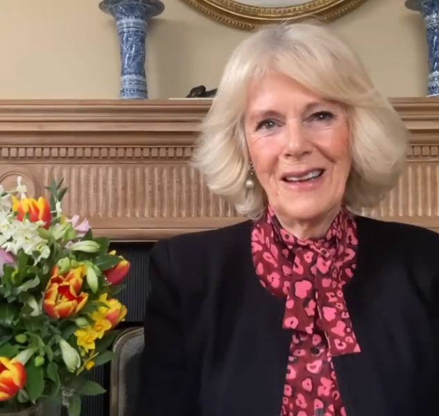 The Duchess of Cornwall marked the 10th anniversary of Flowers from the Farm - a membership organisation that supports gardeners and cut-flower growers