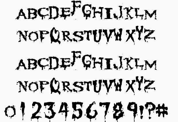 Cannibal Corpse font