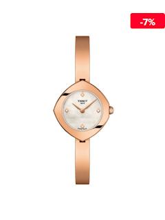 Ceas femei elegant auriu subtire Tissot T1131093311600