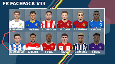 PES 2017 Facepack v33 by FR Facemaker