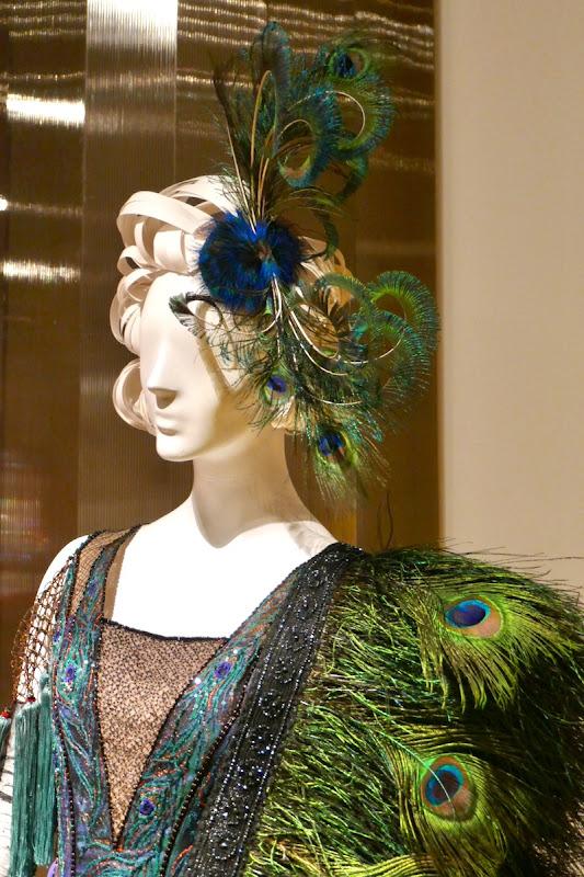 Dumbo Colette peacock costume headdress