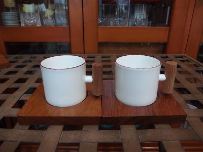 白山陶器 コーヒー カップ&ソーサー 森デザイン HAKUSAN PORCELAIN  DESIGN MORI