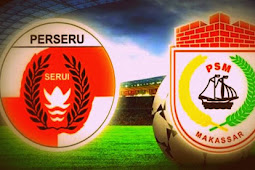 PSM Makassar Kalahkan Perseru Serui 2-0