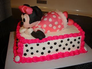 Caketacular Minnie Mouse Sheet Cake