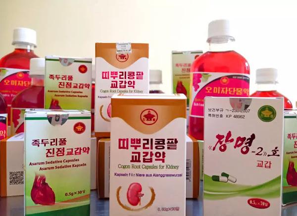 A Koryo Medicines brand 'Jangmyong-2'
