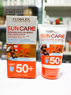 kem chong nang bao ve da Sun Care Flos-Lek 50+ balan
