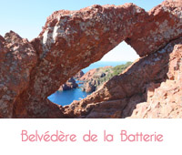belvedere de la batterie sud de la France