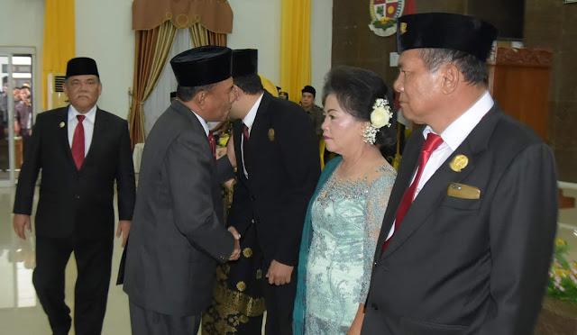Bupati dan Wabup Hadiri Pelantikan Ketua dan Waket DPRD Deli Serdang Periode 2019-2024